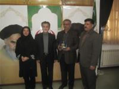 Mr.Esfandiari & Ms.Sahebalzamani visited Mahmoudabad